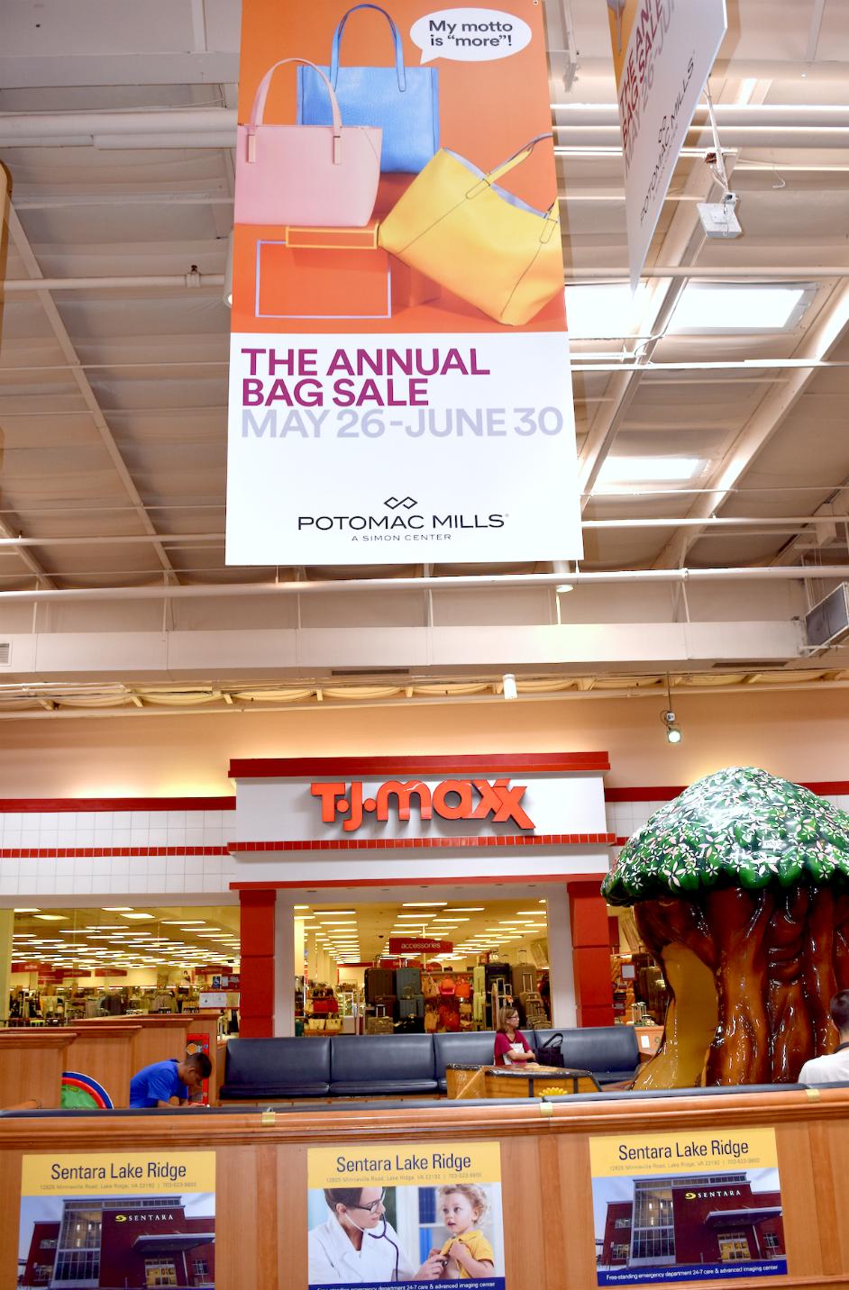 ac9c5f194 Annual Handbag Sale Potomac Mills Mall. Save · Save · Save