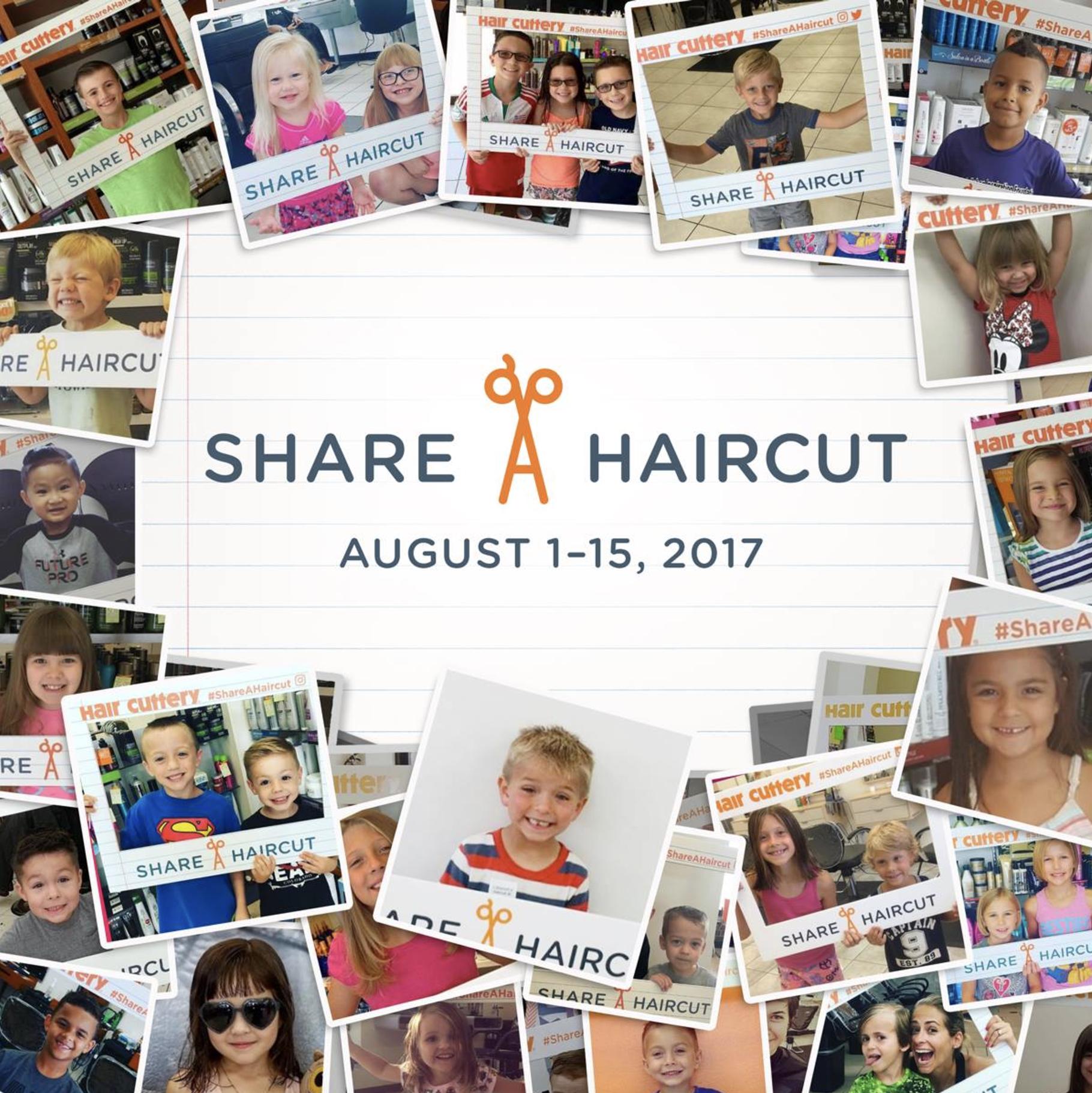 Share A Haircut 2017 by Hair Cuttery