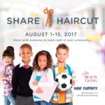 """Hair Cuttery """"Share A Haircut"""": FREE Haircuts to Underprivileged Children"""
