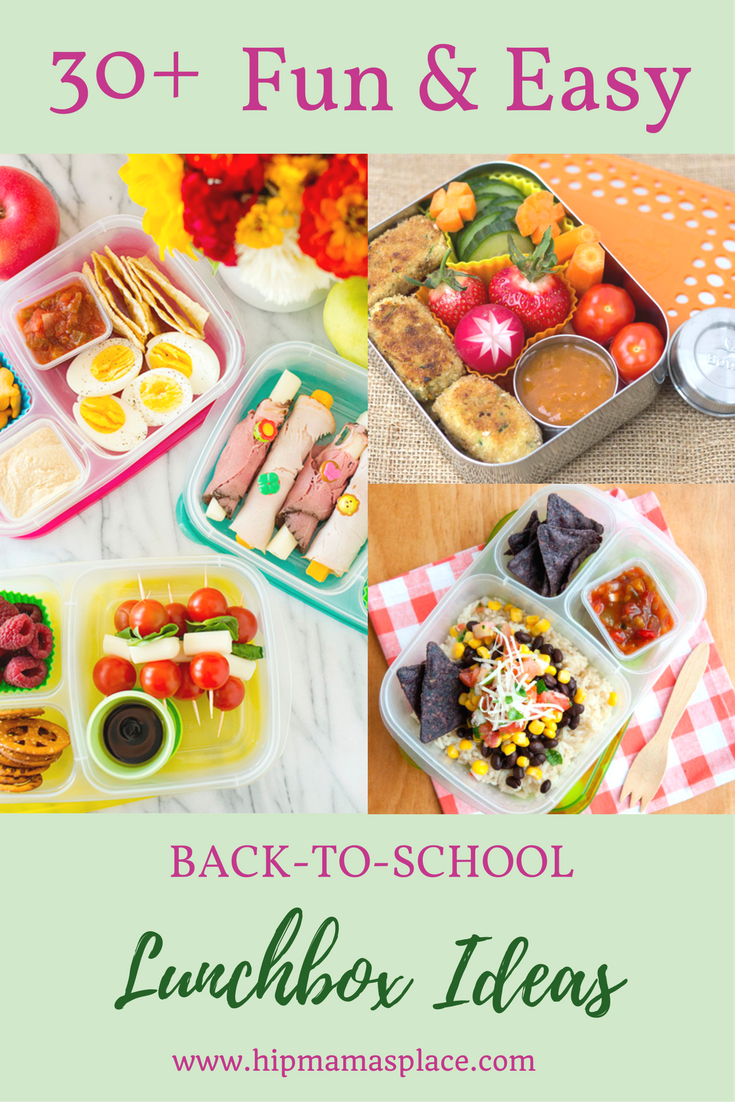30+ Fun and Easy Lunchbox Ideas for Back to School