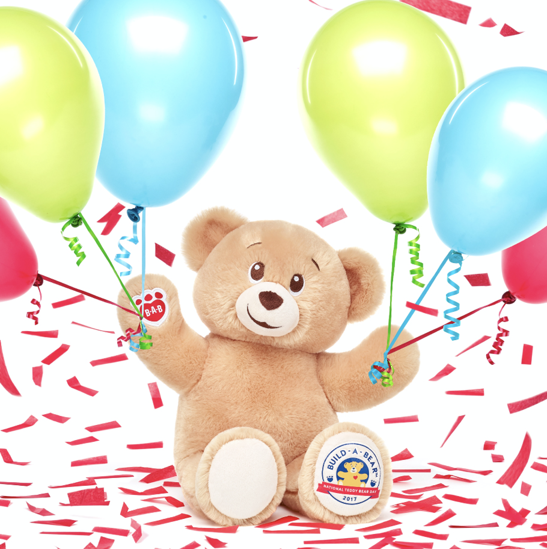 Celebrating National Teddy Bear Day + Win a $100 Build-A-Bear Workshop Gift Card!