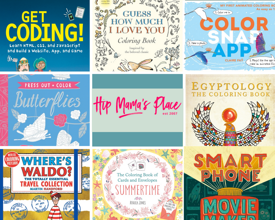 Help Your Child Get Creative with Interactive Activity Books from Candlewick Press + Giveaway!