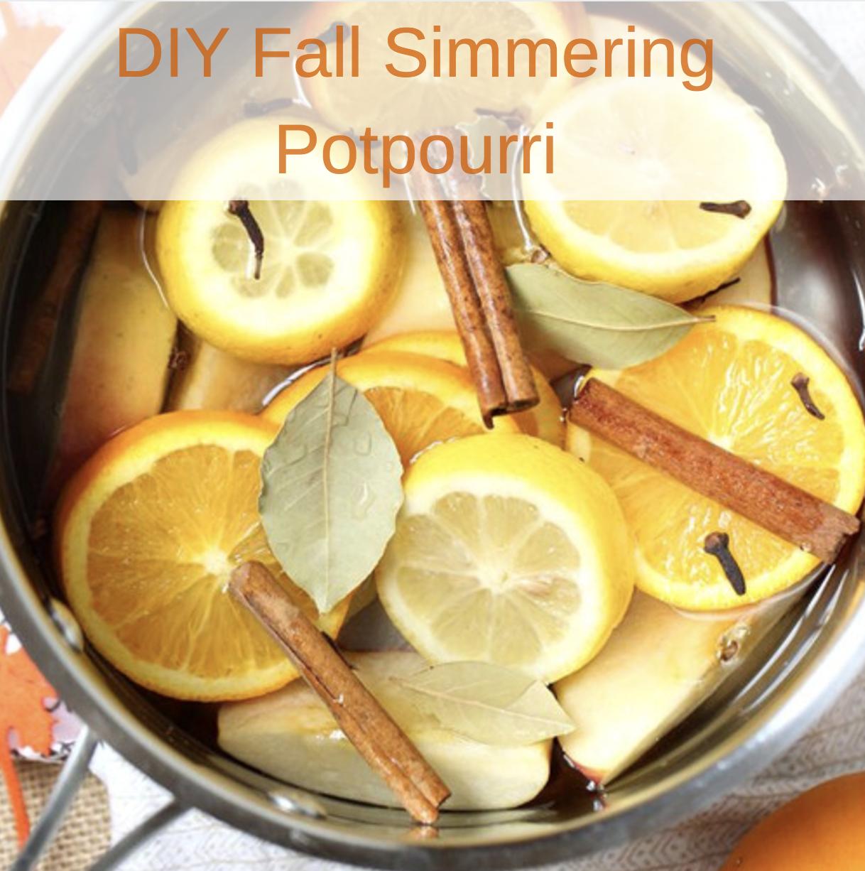 DIY Fall Simmering Potpourri