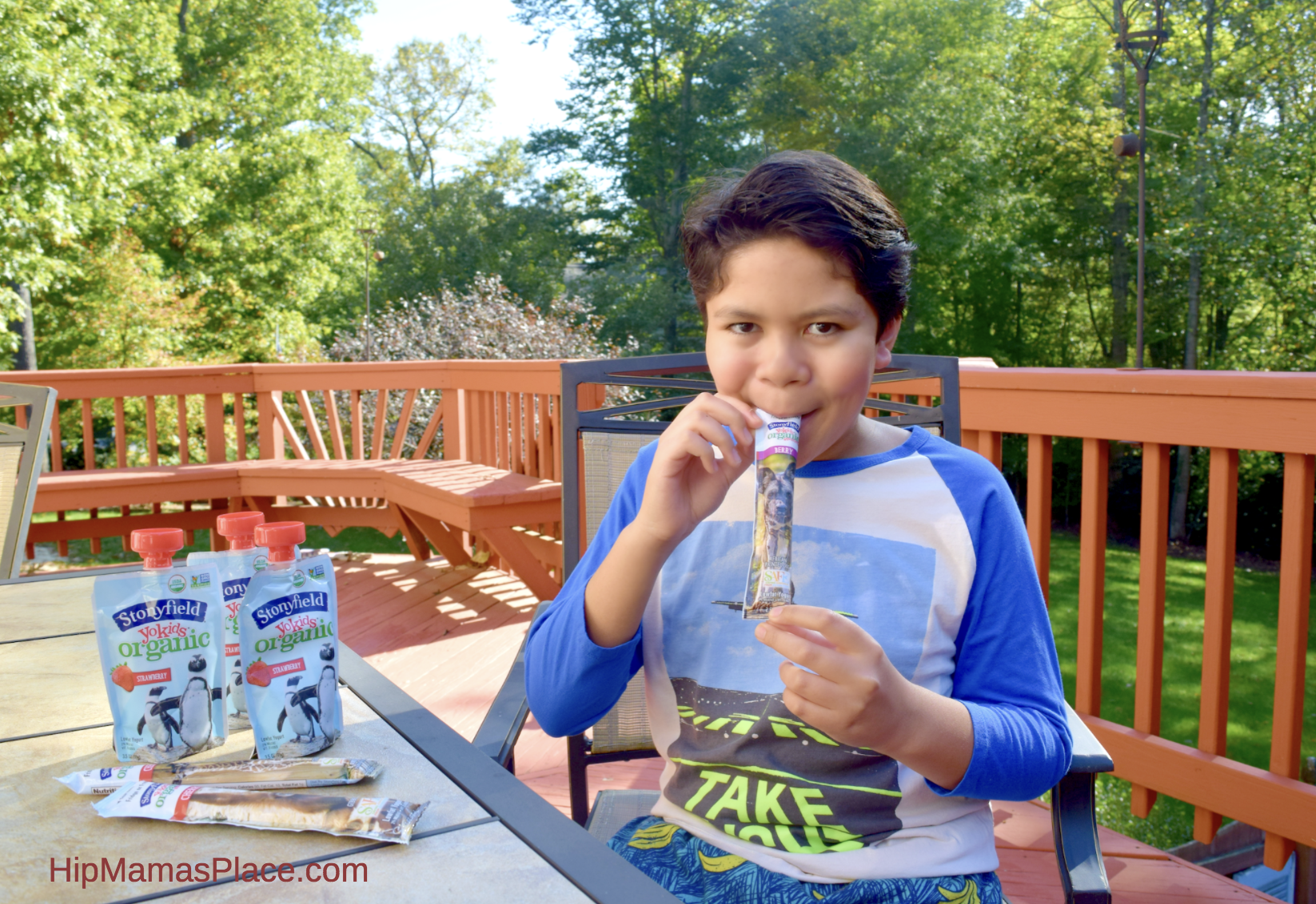 I feel good giving my kidsStonyfield® Organic YoKids® yogurts because not only do they enjoy these yogurts, I love that their bodies are being replenished with wholesome, certified organic snacks!