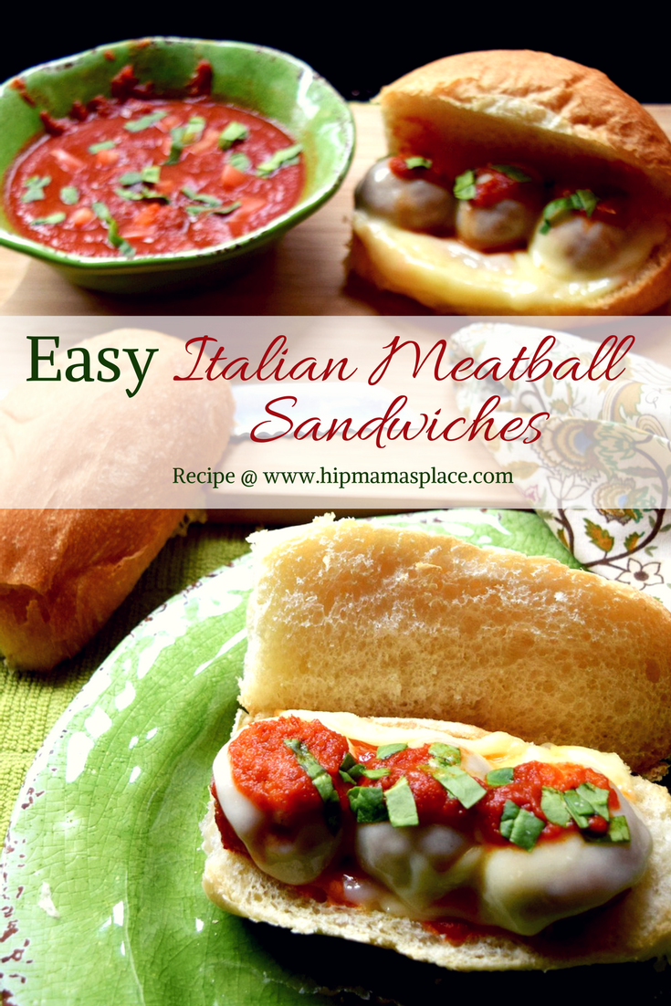 Easy italian meatball sandwiches simplify dinner tonight and make these easy italian meatball sandwiches made with carando brand abruzzese recipe forumfinder Gallery