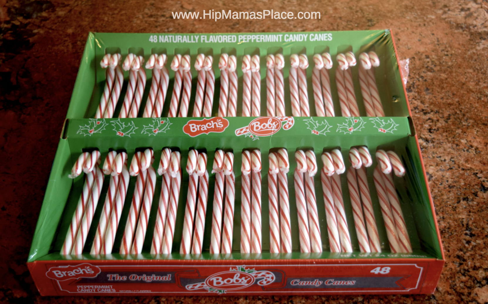 This big box of 48 ct. Bob's Candy Canes is only $4.99 at BJ's Wholesale Club!