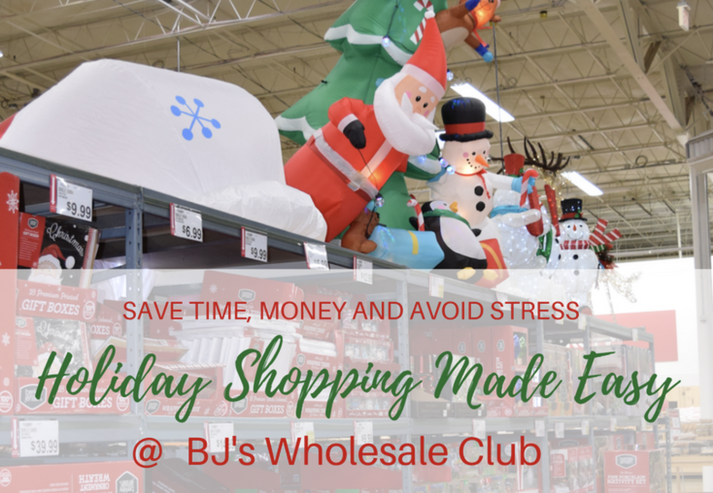 Save time money and avoid holiday stress at bjs wholesale club