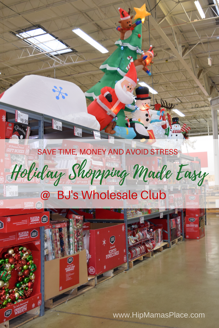 Ad avoid the stress from holiday shopping save time and money at bjs wholesale