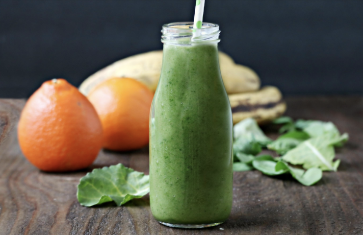 Green 'Wake Me Up' Smoothie