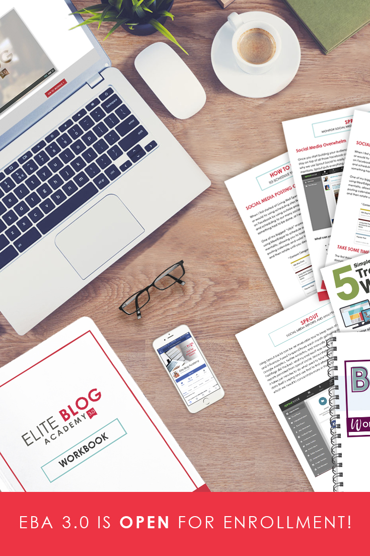 The Elite Blog Academy 3.0 Successful Blogging Training is now open for enrollment only until March 9, 2018. Don't miss out!