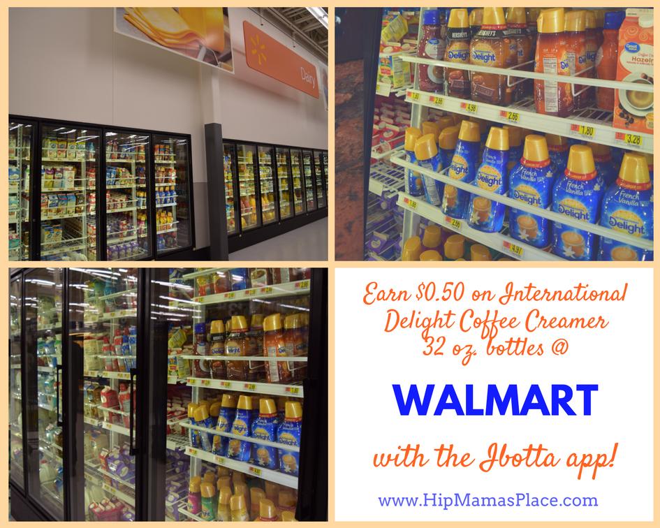 International Delight Coffee creamer Ibotta deals at Walmart
