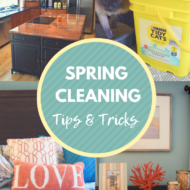 9 Spring Cleaning Tips & Tricks