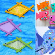 15 Easy and Adorable Fish Crafts To Make With Kids + $50 Amazon Gift Card Giveaway!