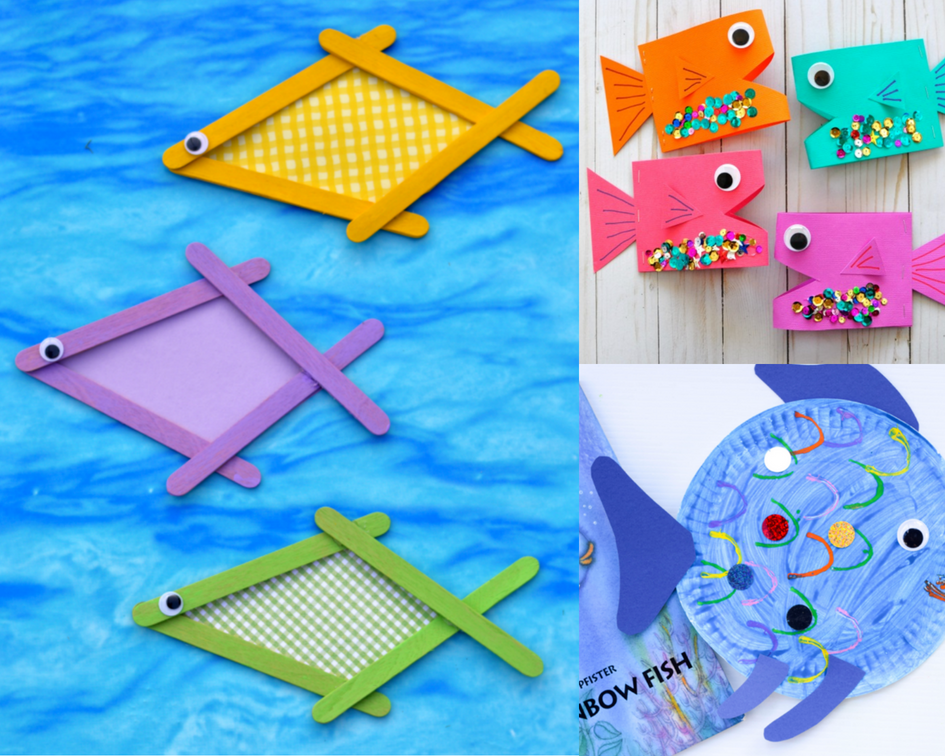 465038f48ce5f0 15 Easy and Adorable Fish Crafts To Make With Kids