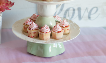 DIY Upcycled Tiered Cake Stand