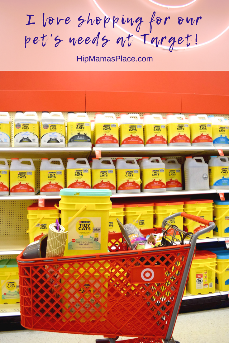 I love shopping at Target for our pet's needs!