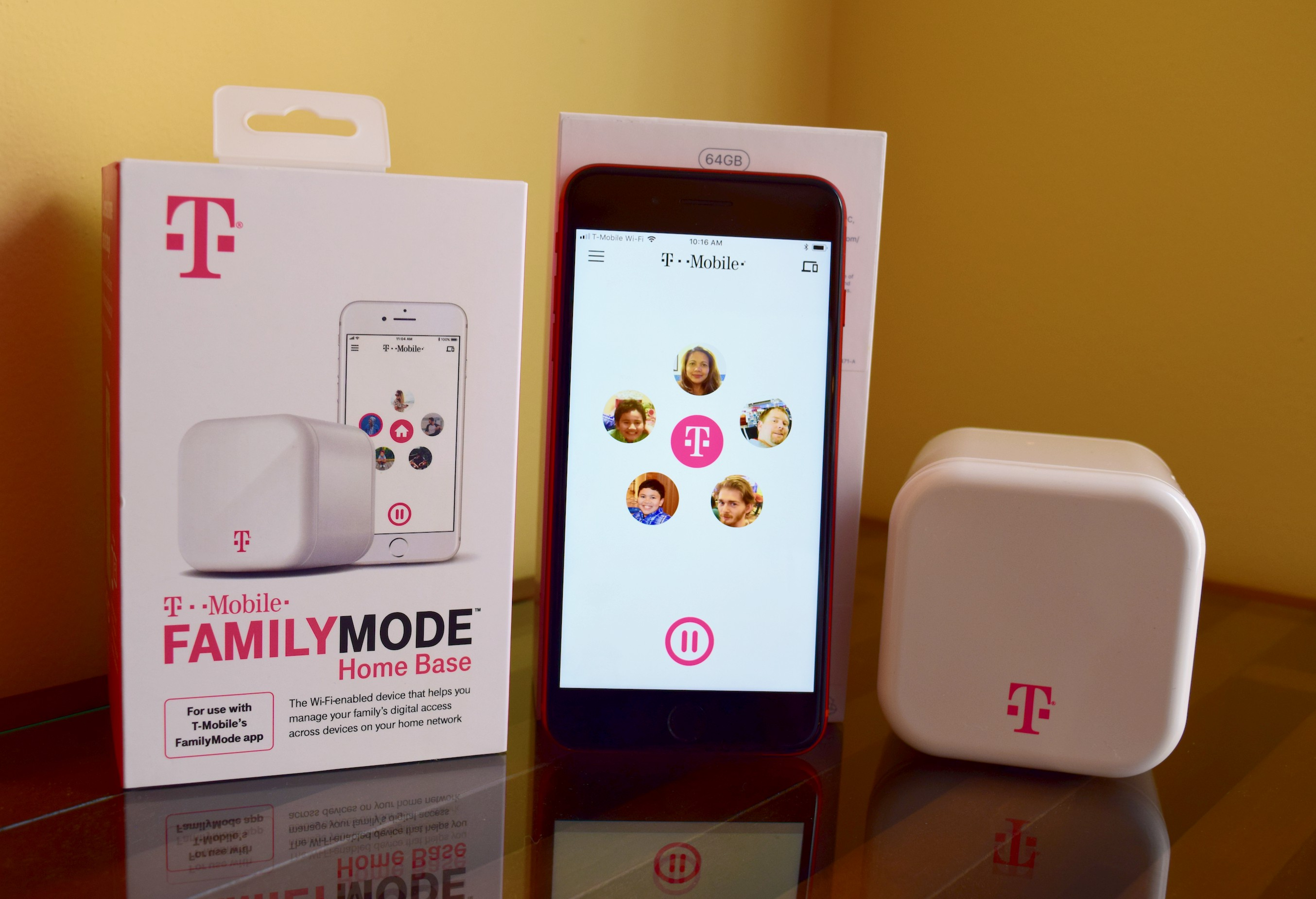 While the carriers' solutions only cover the devices connected to their networks,T-MobileFamilyMode lets us do all these on our kids' phones, tablets, gaming consoles, laptops, smart TVs and the other Wi-Fi-connected devices in our home.