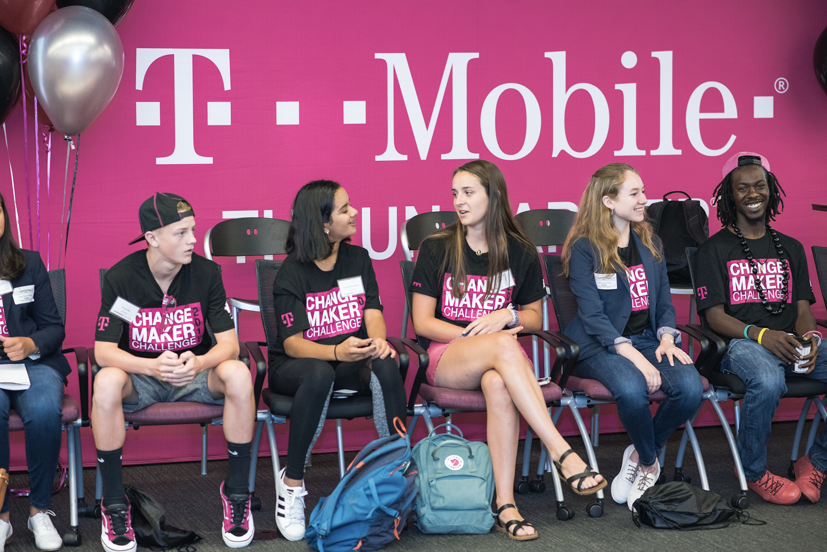 T-Mobile's Changemaker Challenge program encourages teens and young adults nationwide to create positive long-lasting change in their communities through their big ideas.