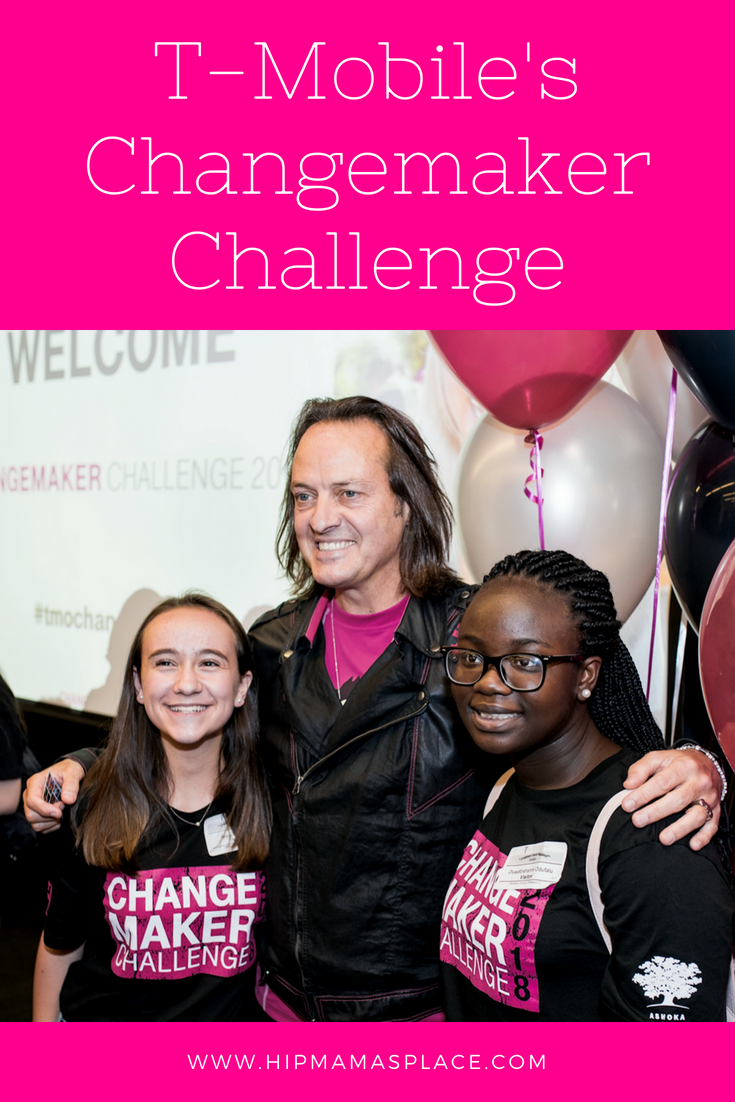 T-Mobile has been changing wireless for good and now with the recent launch of T-Mobile Changemaker Challenge, the Un-carrier has set its sights even higher by giving youth some tools to change the world for good!
