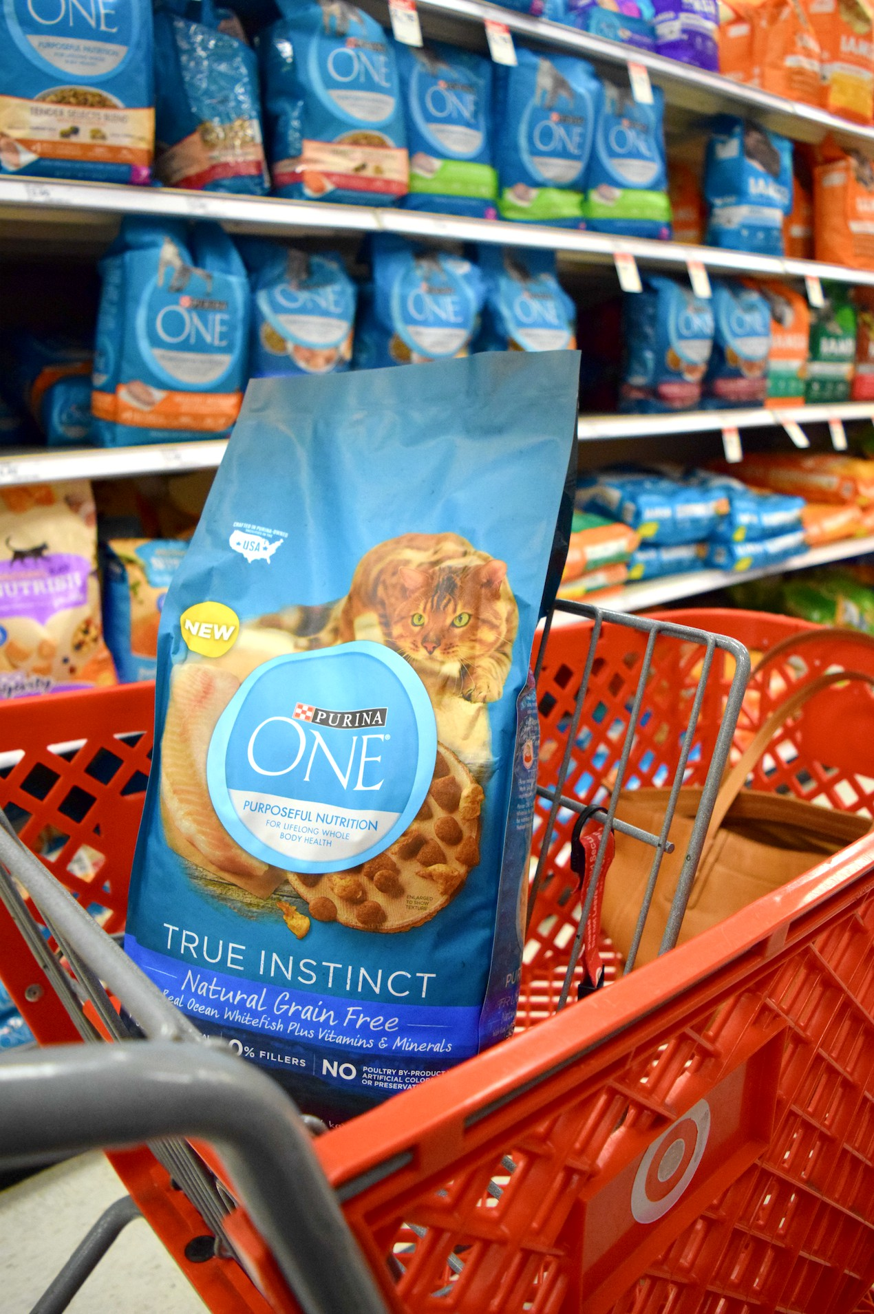 Love shopping at Target? Here are 7 Easy Ways to Save at Target + find some great deals on Purina ONE pet food all through September!