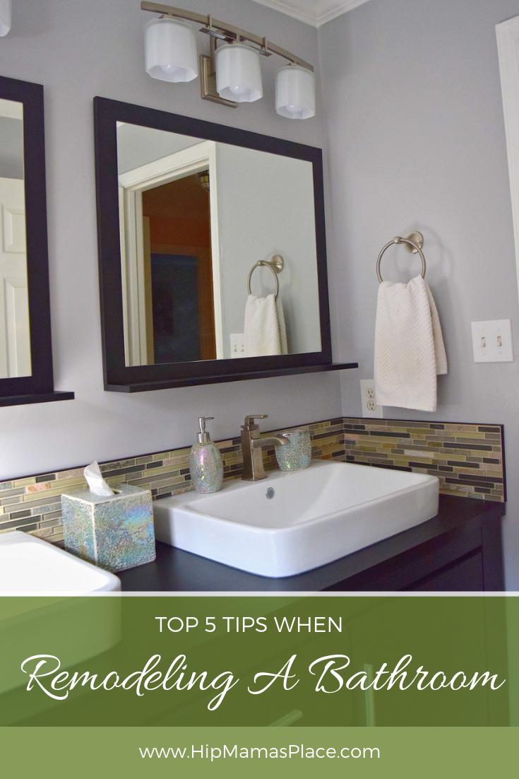 5 Tips When Remodeling A Bathroom, Sears Bathroom Remodel