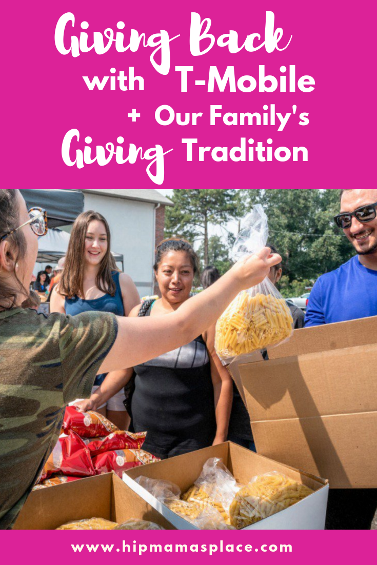 The holidays are a time of togetherness and of giving back to others. Here's how T-Mobile helps to give back and what giving truly means for our family. Full story @ www.hipmamasplace.com #GivingOnUs #WeWontStop #GivingTuesday #ad #sponsored