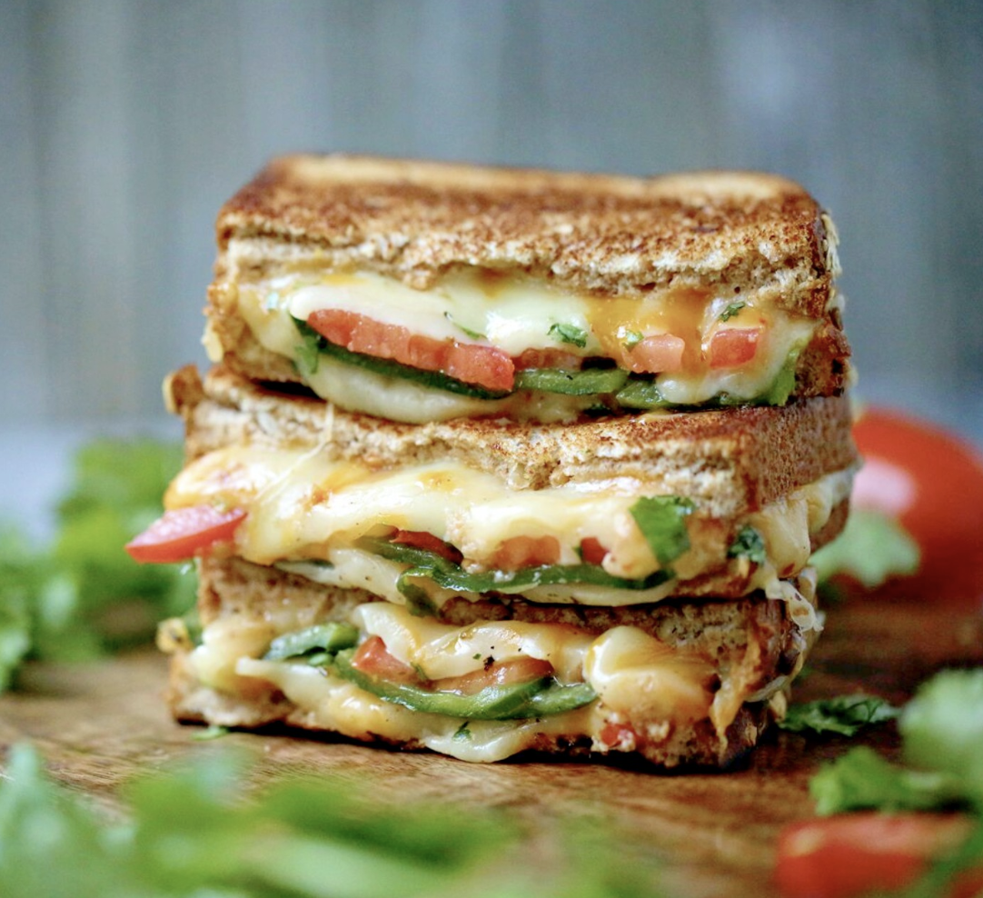 Southwest Grilled Cheese Sandwiches
