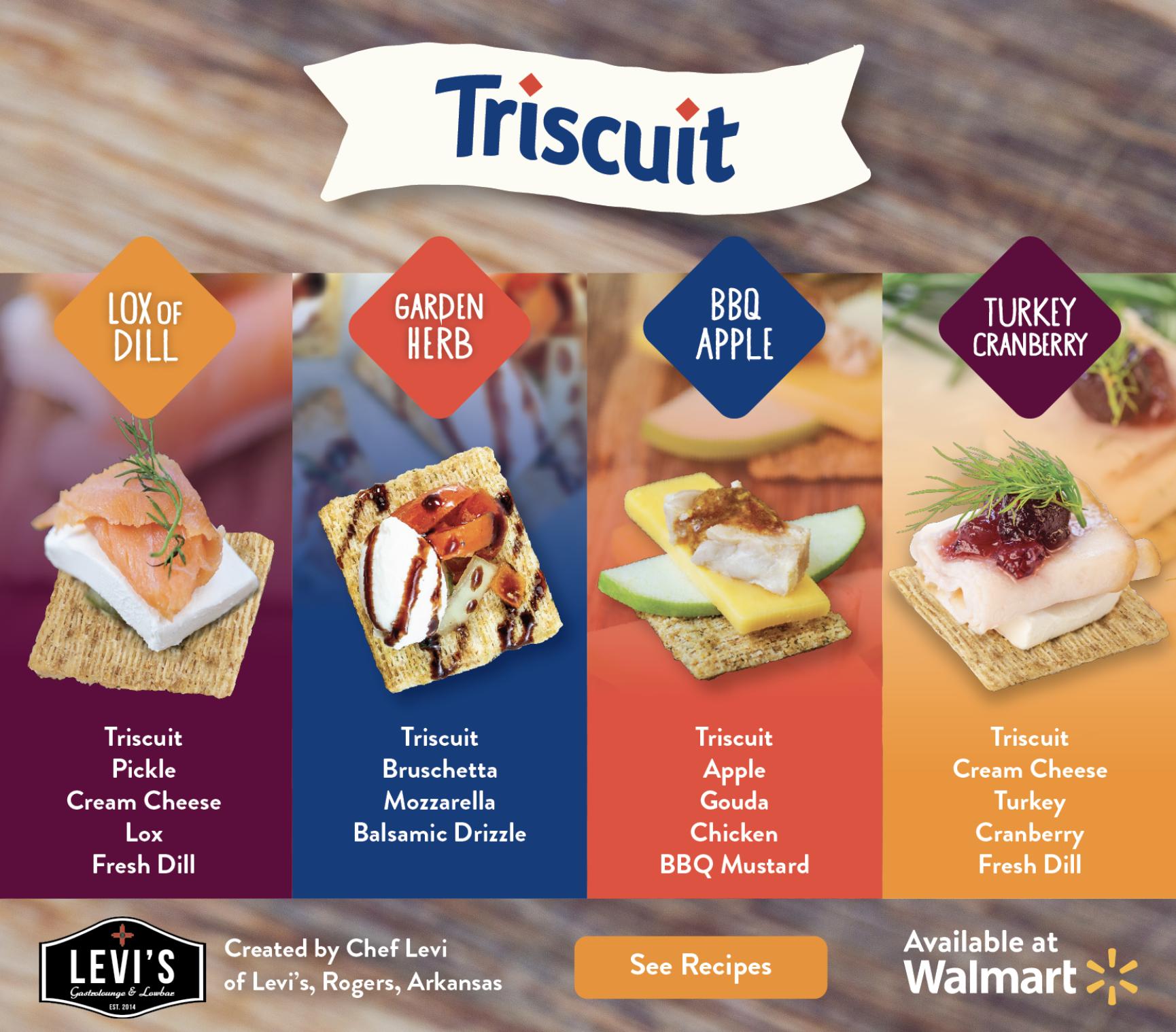 Triscuit Recipes Hub