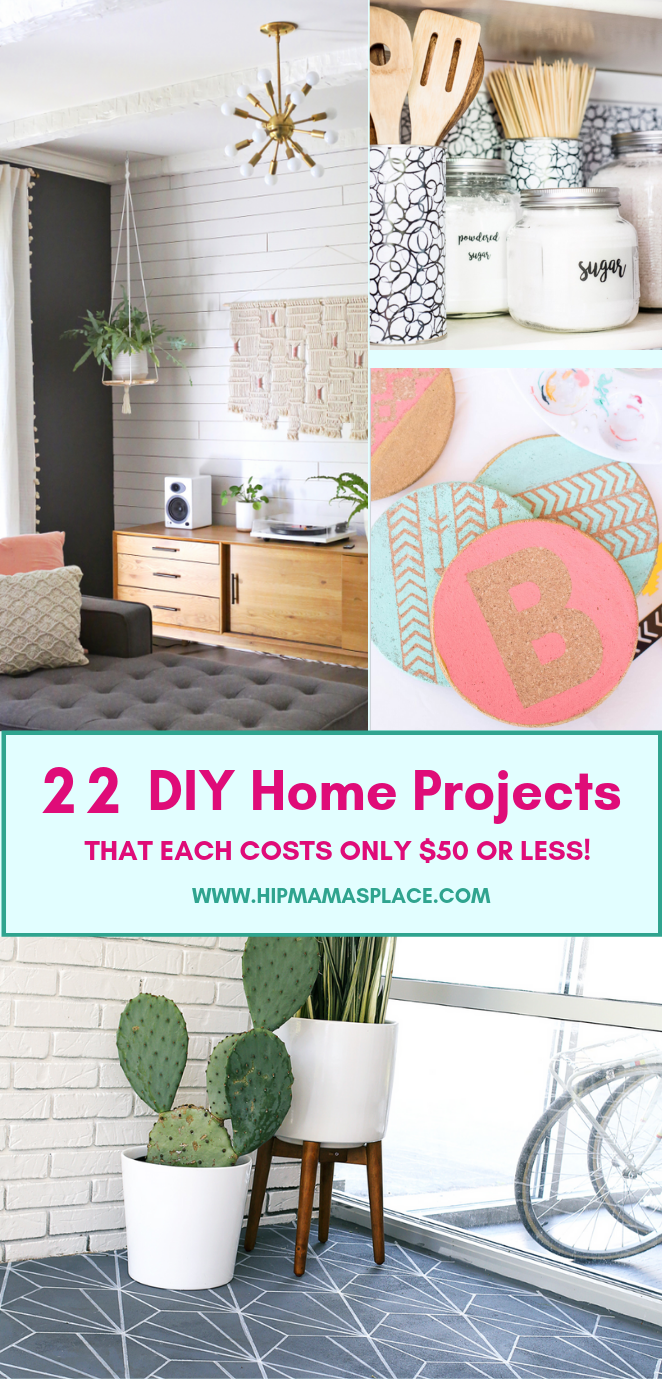 fe8054b76fa09 22 Cool and Inspiring DIY Home Projects for  50 or Less!