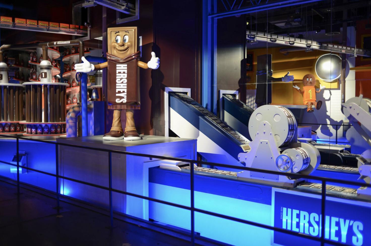 Hershey's Chocolate World Tour in Hershey, PA