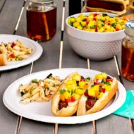 How to Have the Perfect Summer Grilling Party + Easy Pineapple Salsa Recipe