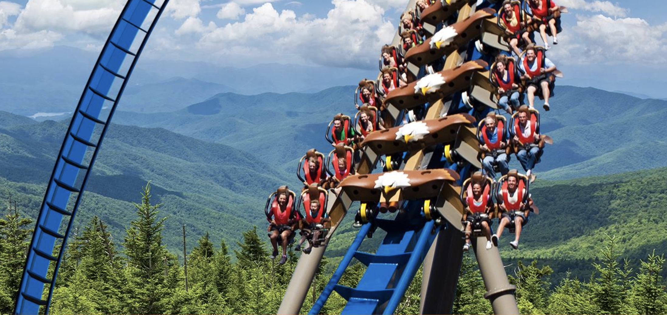 With 50 rides, the Dollywood Theme Park is packed full of family fun!