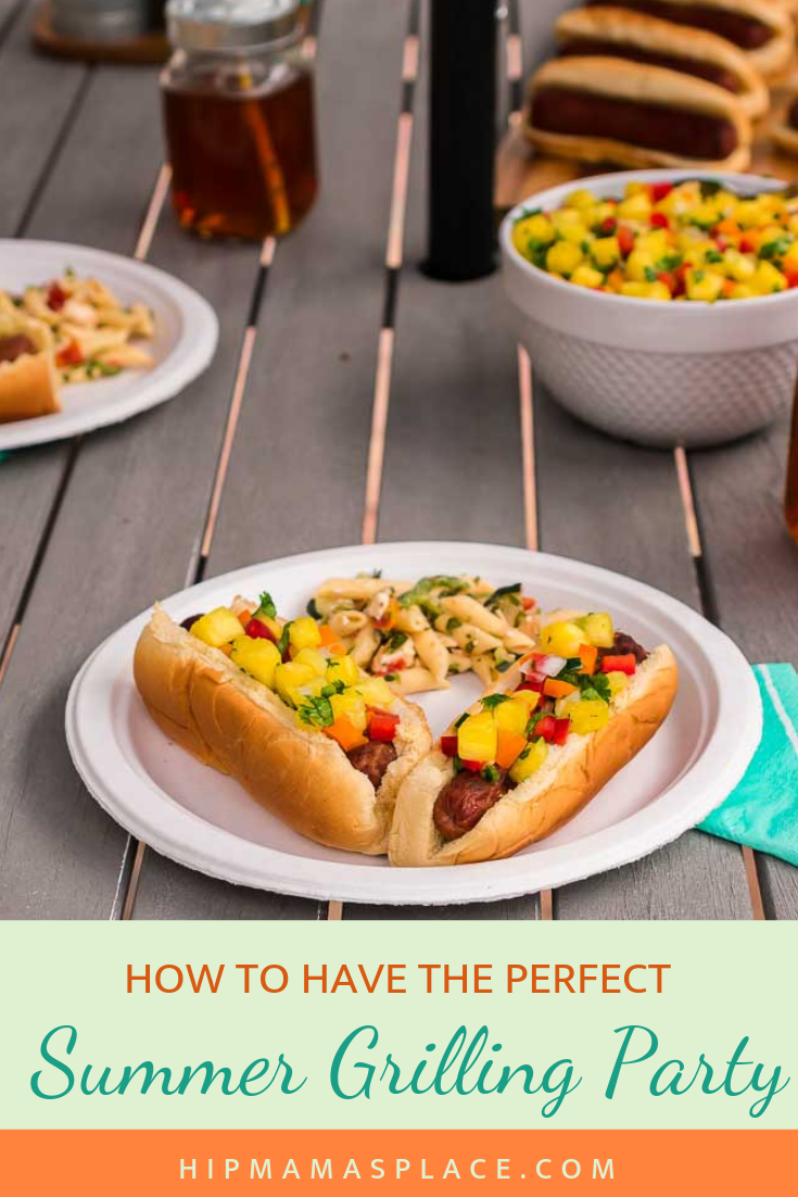 How to Have the Perfect Summer Grilling Party + Easy Pineapple Salsa Recipe @ www.hipmamasplace.com #ad #TurnUpSummer #recipes #summergrilling #food #foodies #sweepstakes #giveaways #Walmartgiveaways