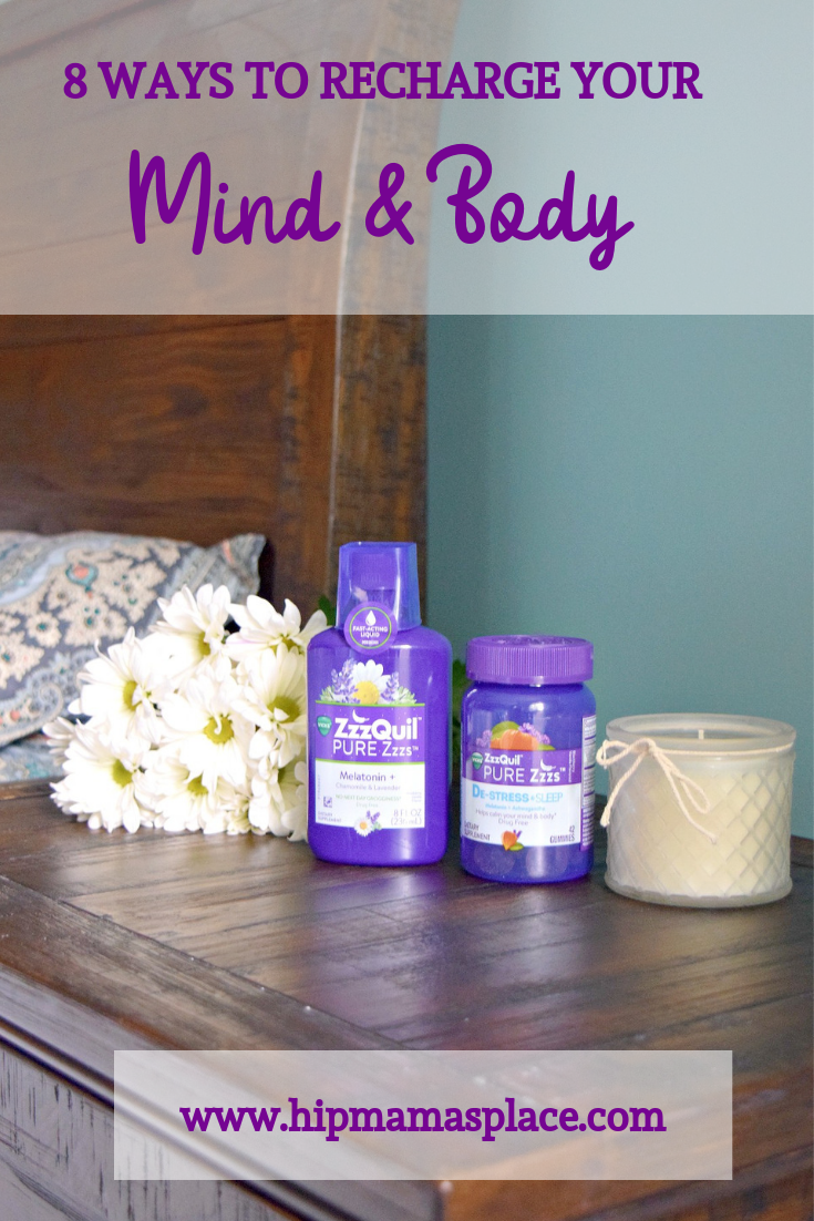 Sleep is crucial not only to your body, but also to your mind. Here are 8 simple ways to recharge your mind and body and prevent burnout. #AD #MyBestZzzs #sponsored