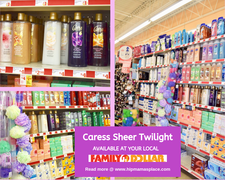 Get all your beauty and personal care essentials at a great value at your local Family Dollar store. Plus, read my full review of the new Caress Sheer Twilight body wash! #FDNewBeauty #ad #sponsored