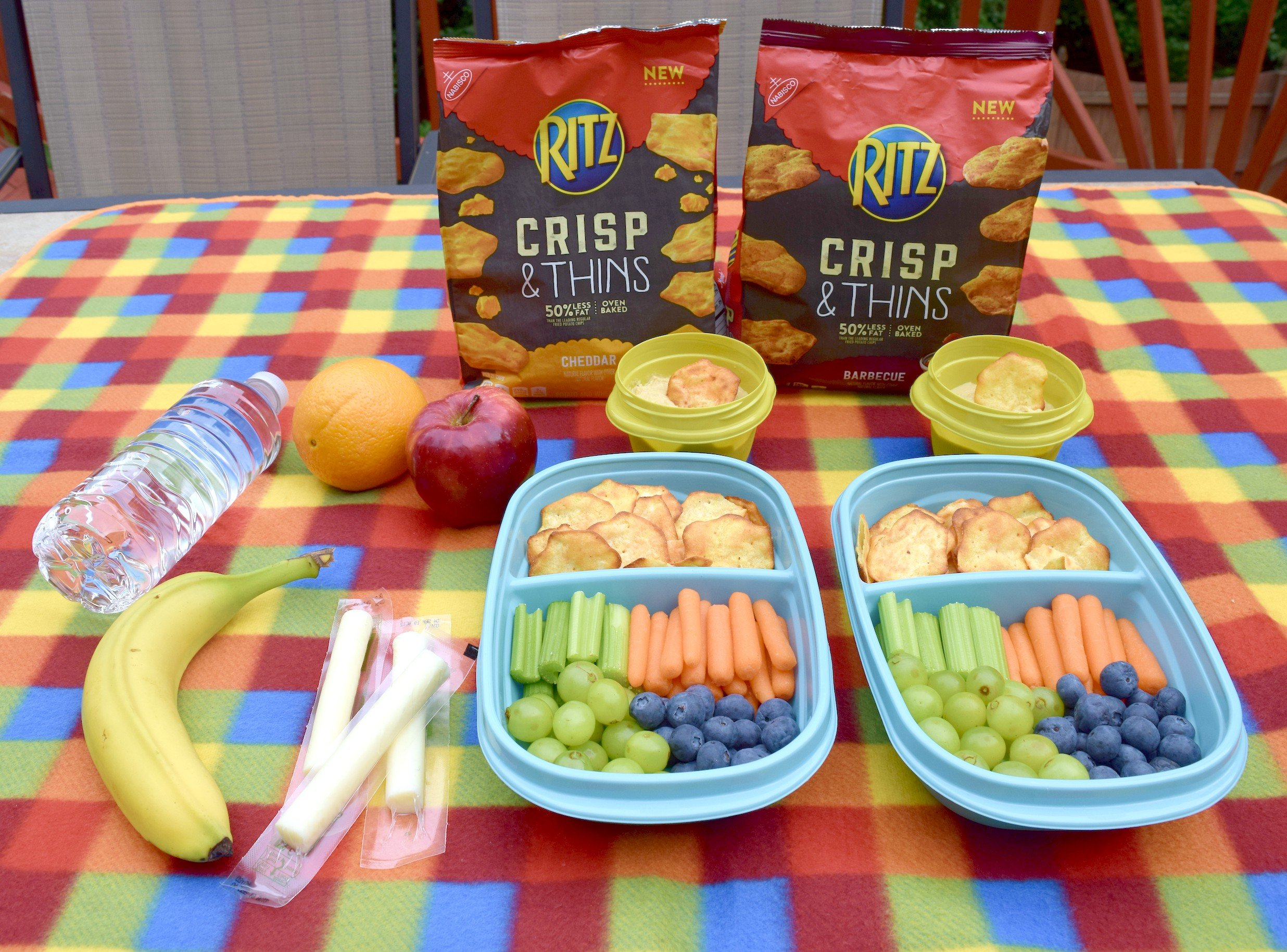 RITZ Crisp & Thins crackers are a great, convenient snacks for family road trips, picnics or to serve at any gatherings!