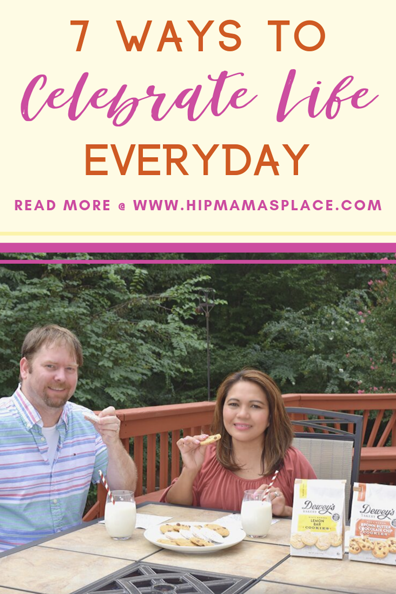 Choose to be grateful for the little things in life to have a much brighter and more positive future. Here are 7 ways to celebrate life everyday! #ad #sponsored #happiness #lifelessons #lifehacks #MySouthernBakery