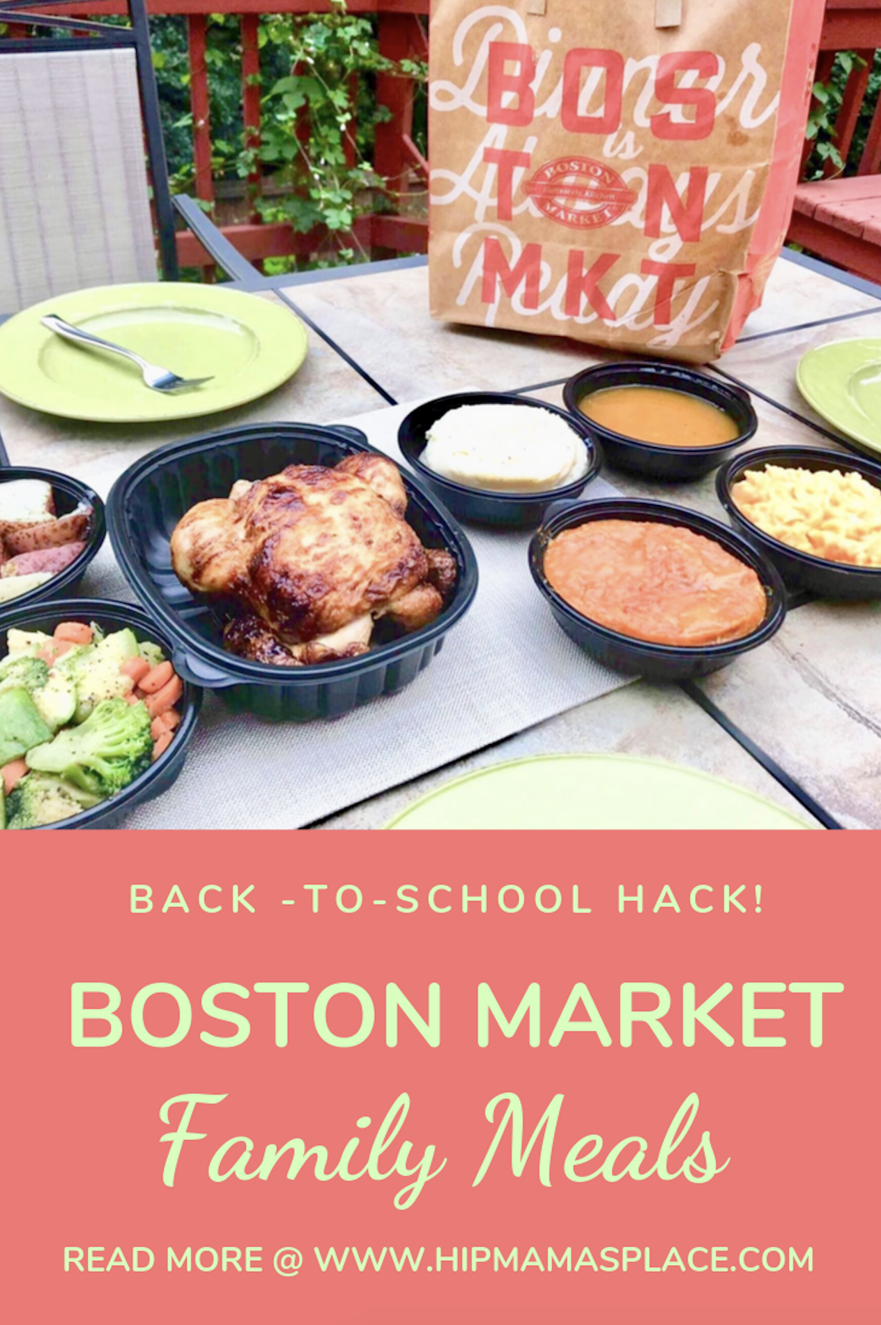Back-to-school transition is easier with Boston Market Family Meals! Read our full review of Boston Market family Meals! #ad #BTSBostonMarket Full story @ https://bit.ly/2m00ECS #dinnerideas #familymeals #bostonmarket