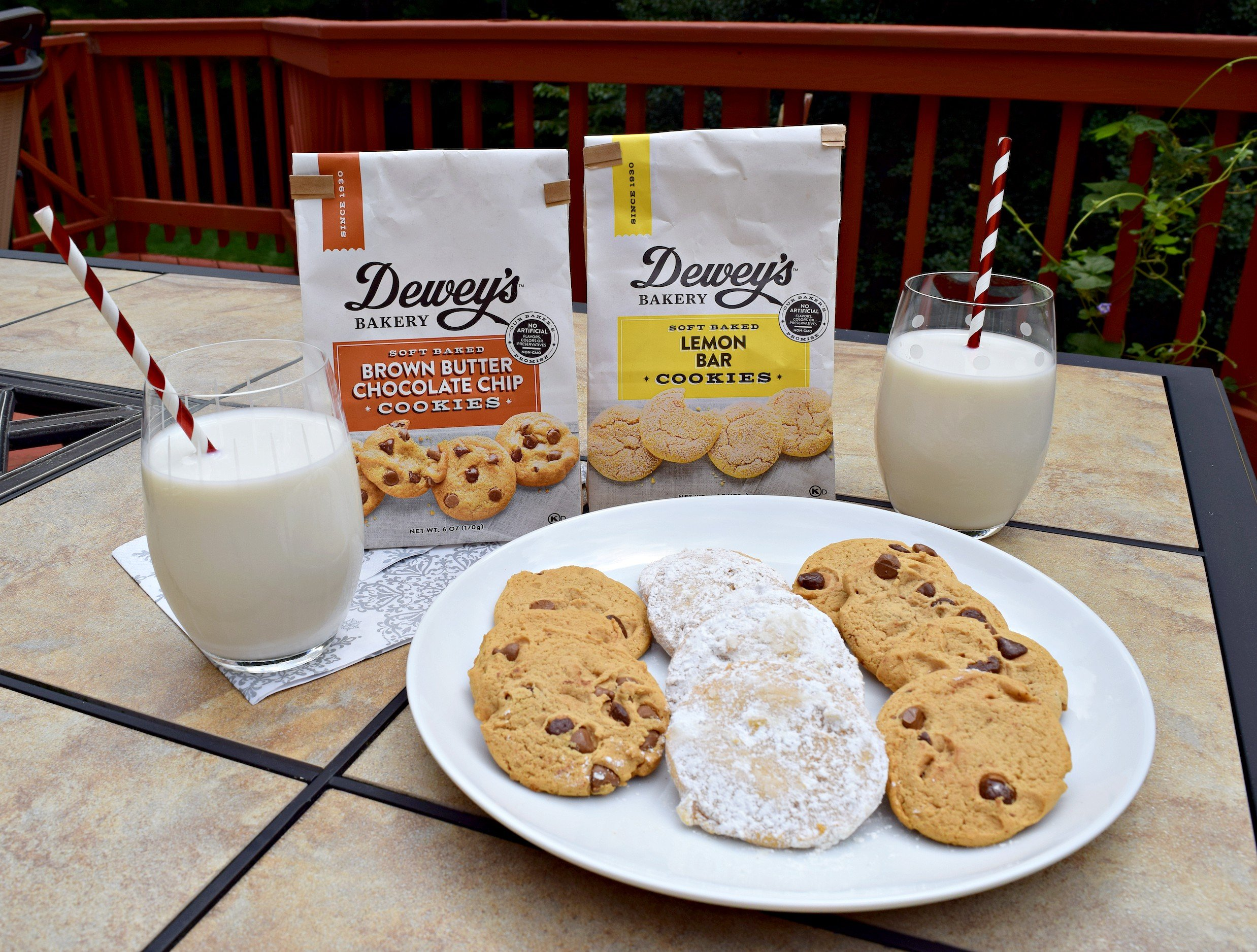 It's okay to indulge once in a while and enjoy something sweet and decadent like these Dewey's Bakery Soft Baked Cookies!