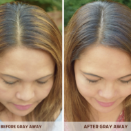Gray Hair, Don't Care with Gray Away Temporary Root Concealer Spray