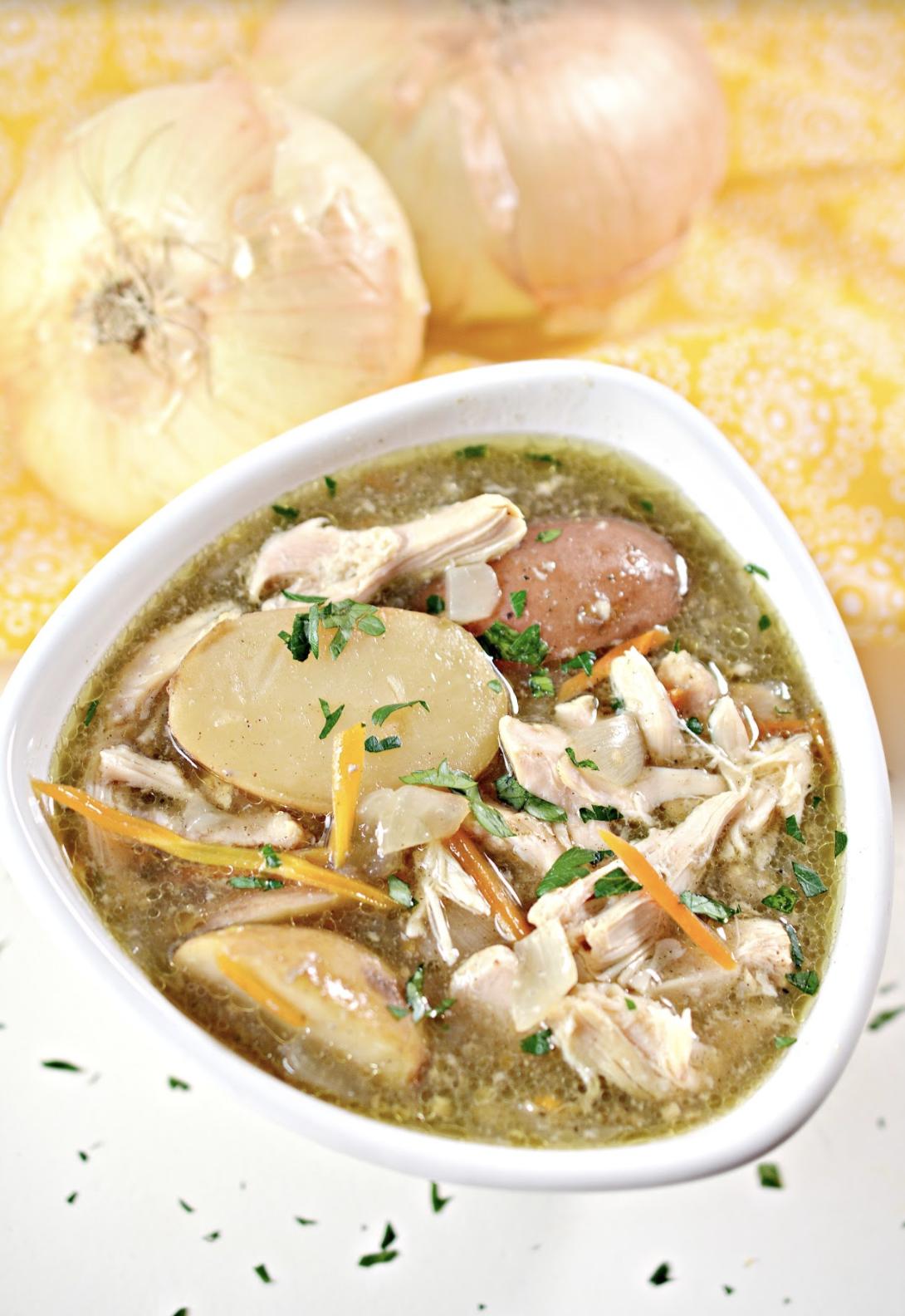 Slow cooker chicken stew recipe