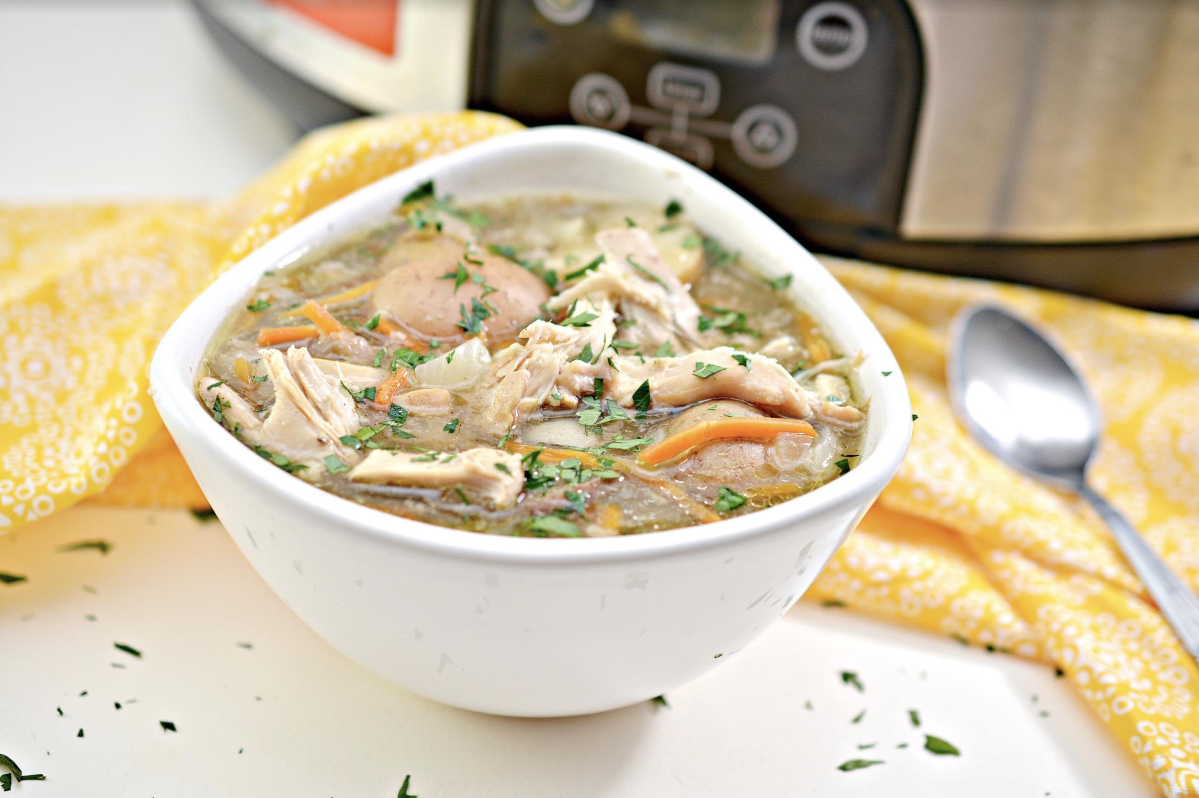 slow cooker spring chicken stew recipe
