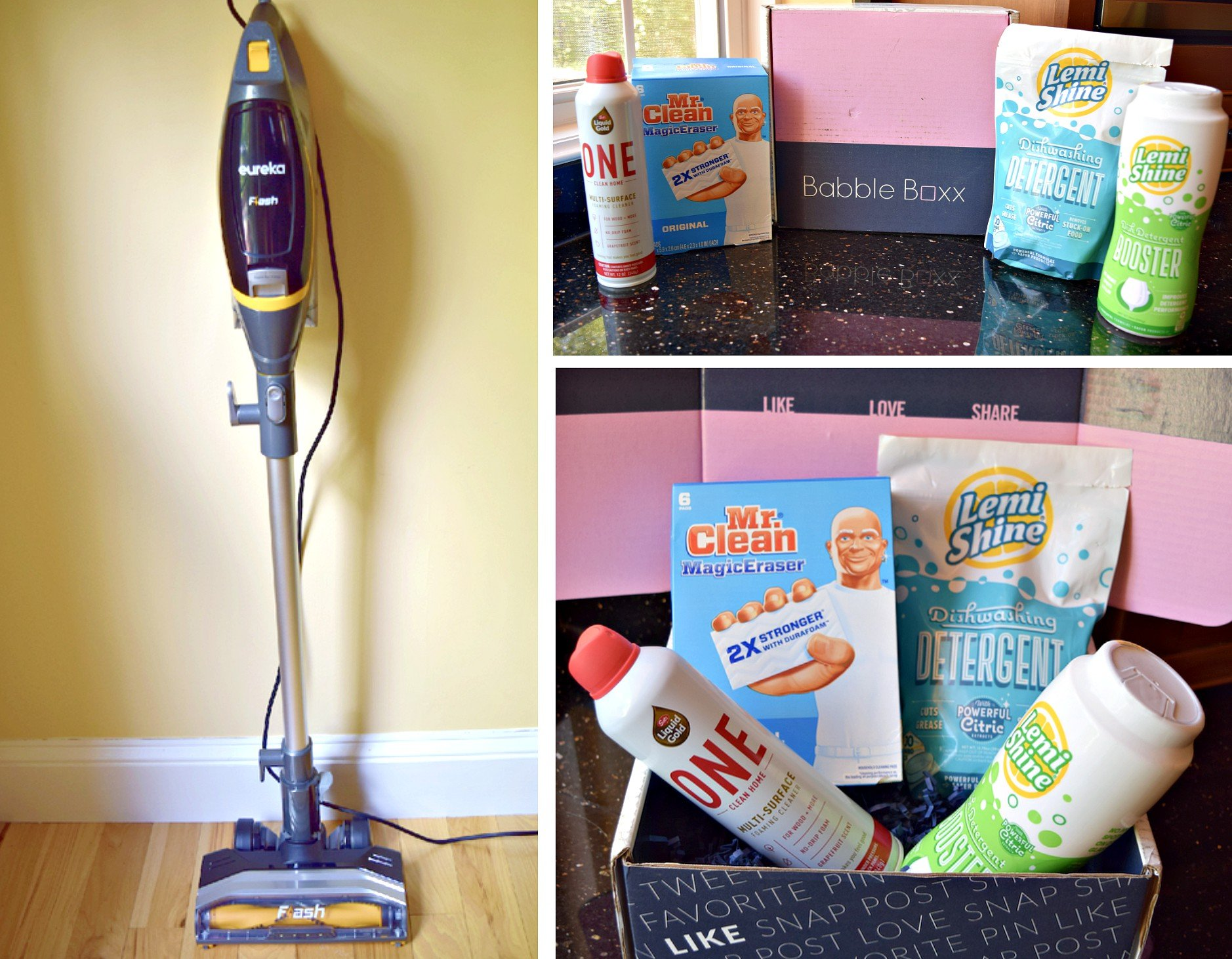 My Spring Cleaning Made Easier with BabbleBoxx