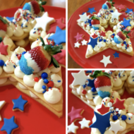 4th of July Cookie Cake with DoughCuts