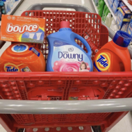 Target Gift Card Promo on P&G Laundry Care Products