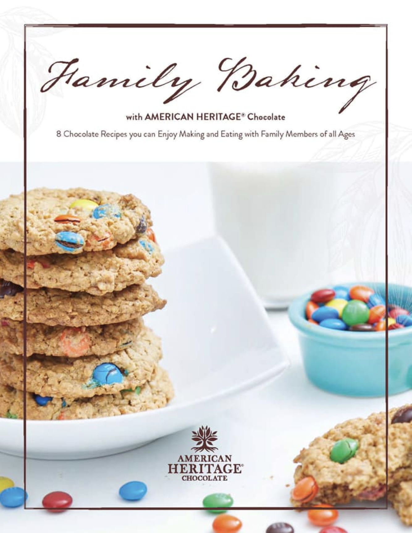 Free Family Baking Guide from AMERICAN HERITAGE Chocolate