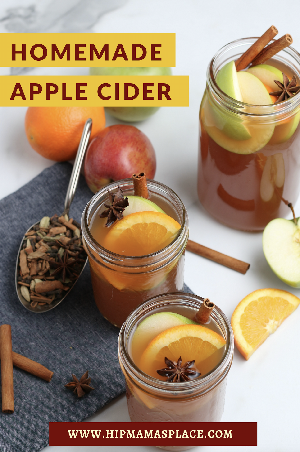 Here's your recipe for easy, comforting and delicious homemade apple cider!