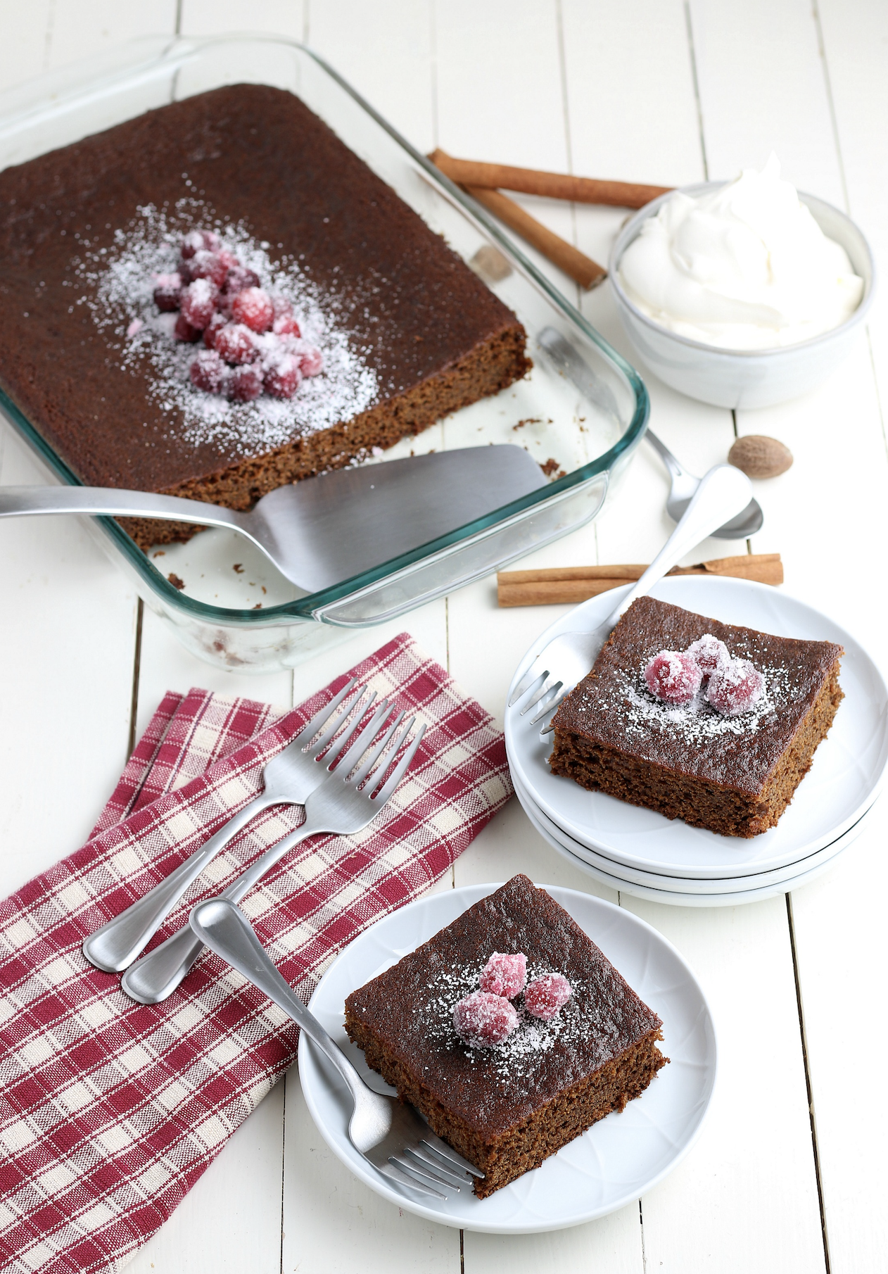 how to make easy gingerbread cake