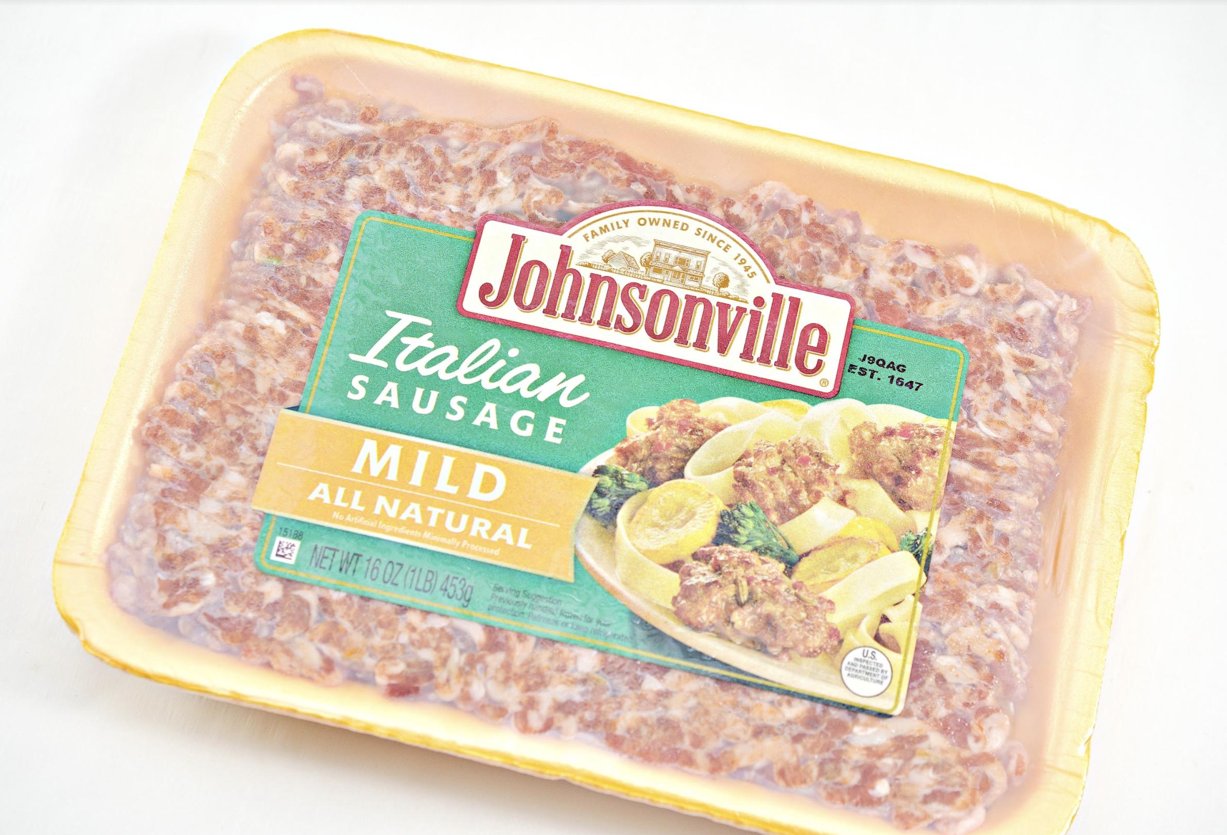 sausage cups recipe with Johnsonville ground Italian sausage