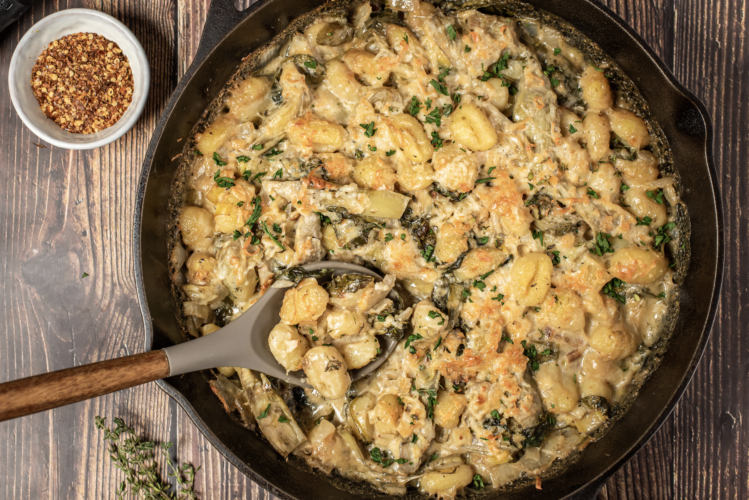 how to make baked gnocchi